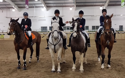 area 4 senior 90cm team